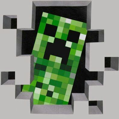 Моб Крипер / Creeper в minecraft minecraft
