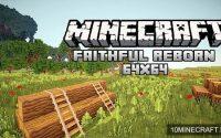 Ресурспак Faithful Reborn Animated Space [64x] для minecraft 1.8