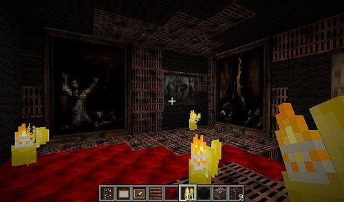 Ресурспак Сайлент хилл - Silent Hill Otherworld [64х] для minecraft 1.8.1 minecraft