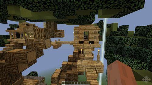 Shark Treehouse [Карта] minecraft