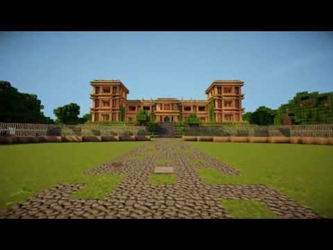 The Wayne Manor [With Batcave] minecraft