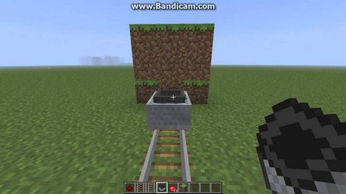 Вагонетка с динамитом minecraft
